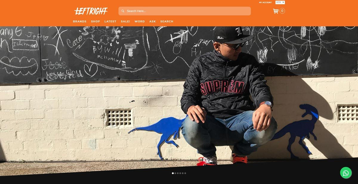 LEFTRIGHT ORIGINALS LAUNCH OF THE LATEST MEN'S FASHION AND LIFESTYLE E-COMMERCE PLATFORM